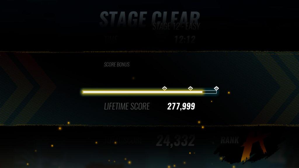 Just keep playing to unlock characters, each pip on the lifetime score bar is a new one