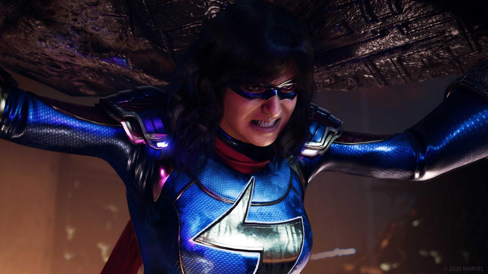 Marvels avengers kamala khan