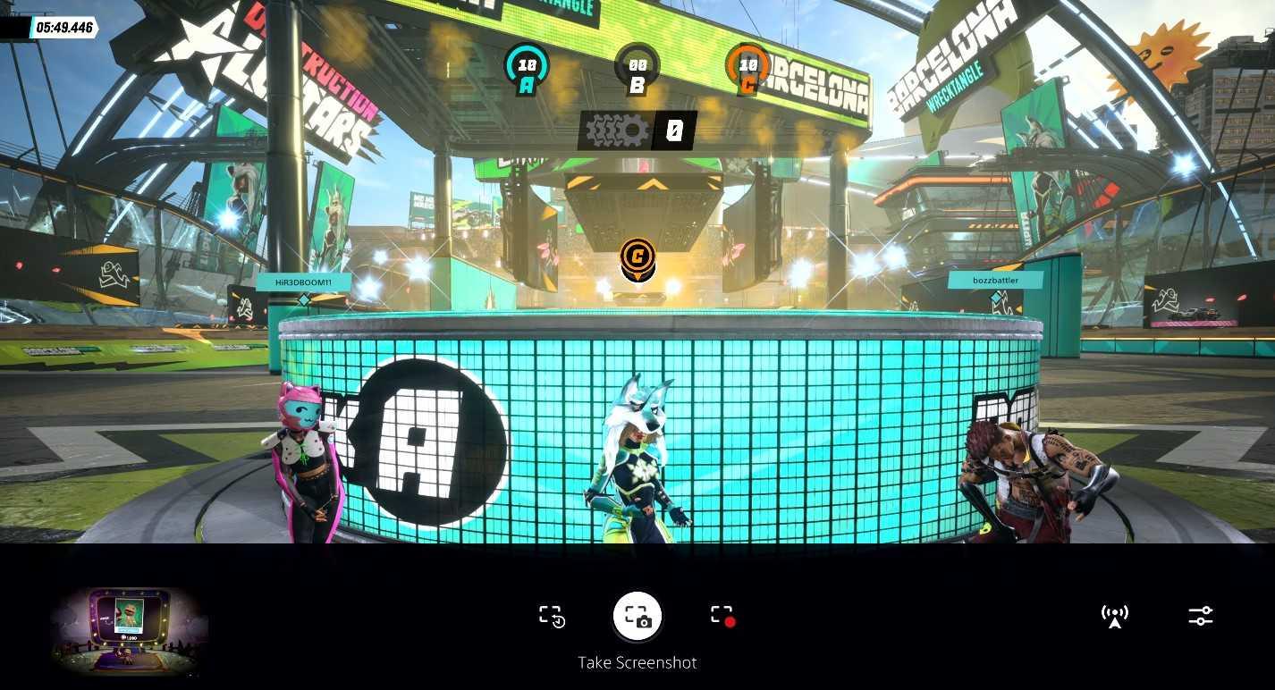 playstation 5 ui create