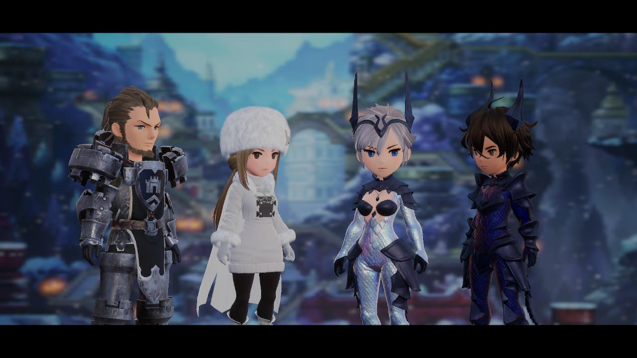 bravely default ii party