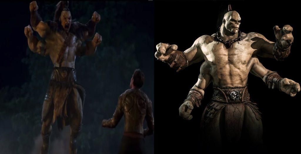 mortal kombat game and movie comparison 8