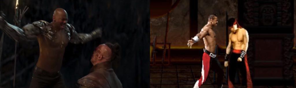mortal kombat game and movie comparison 19