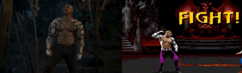 mortal kombat game and movie comparison 7