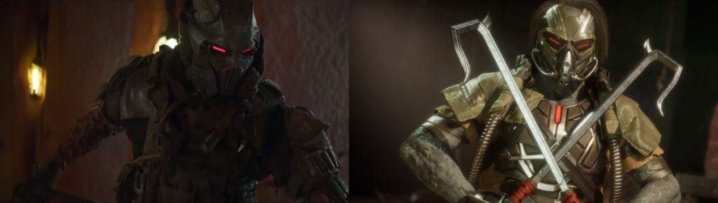 mortal kombat game and movie comparison 14