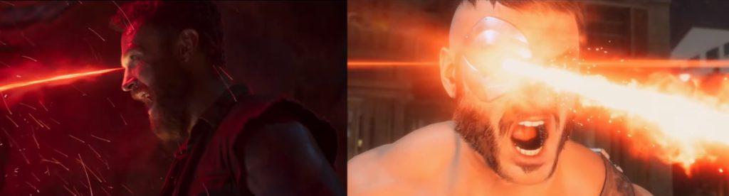 mortal kombat game and movie comparison 13