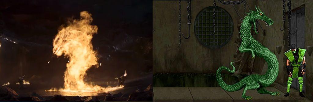 mortal kombat game and movie comparison 18