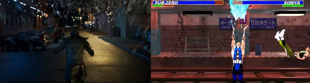 mortal kombat game and movie comparison 16