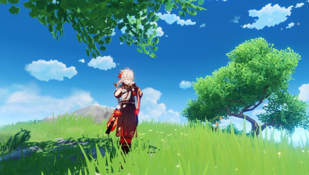 genshin impact 1.6 update Kaedehara Kazuha