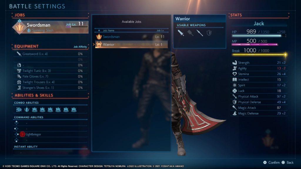 stranger of paradise final fantasy origin screenshot 5