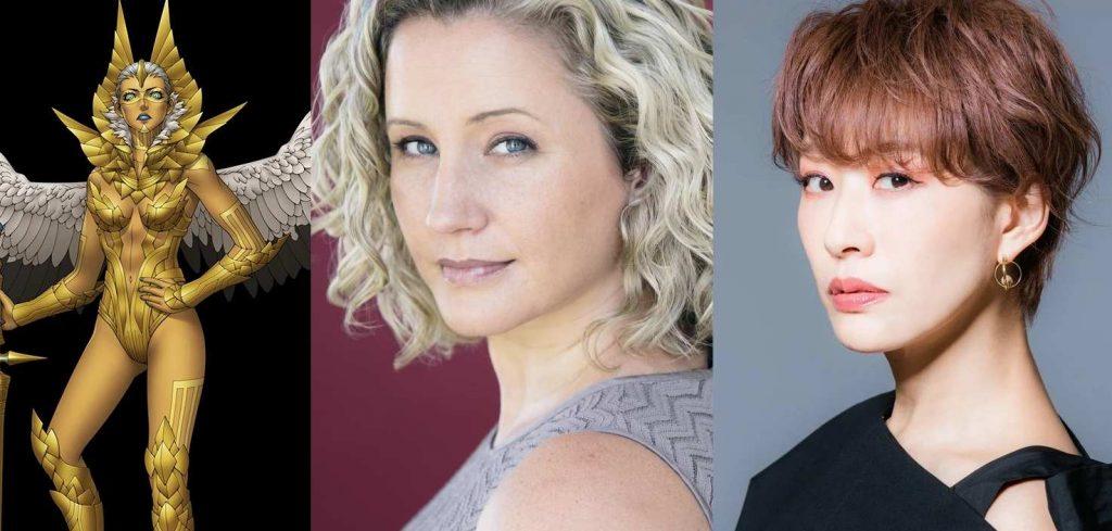 shin megami tensei v voice cast Cissy Jones Romi Park