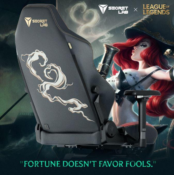secretlab league of legends ruination collection miss fortune