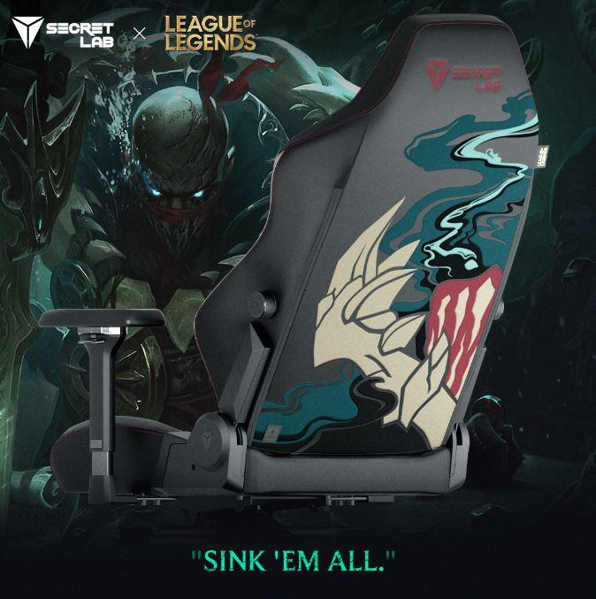secretlab league of legends ruination collection pyke
