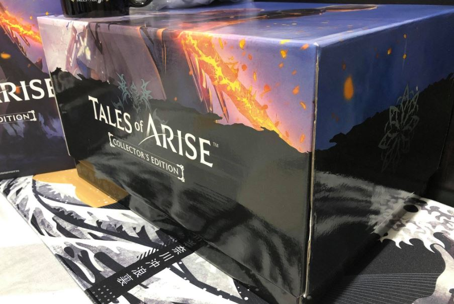 tales of arise collector's edition angle