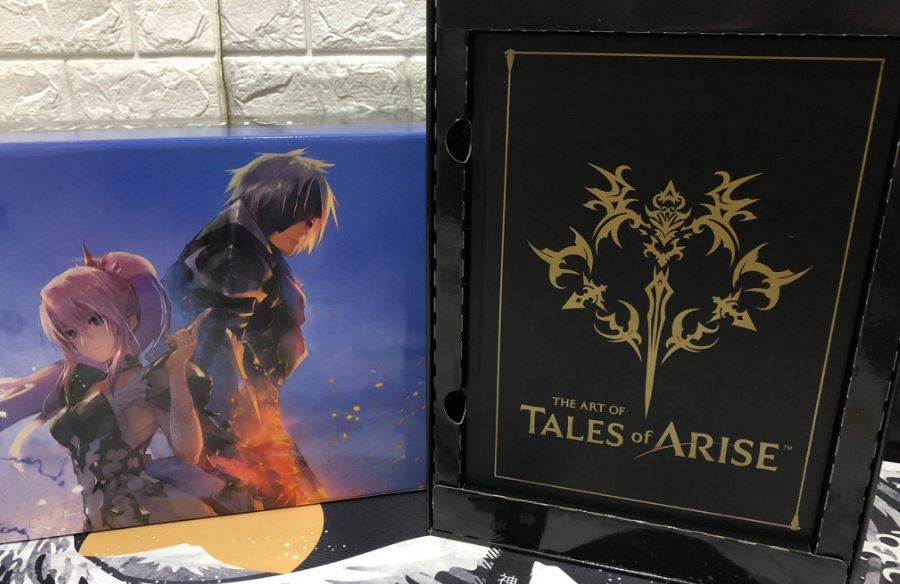 tales of arise collector's edition art book