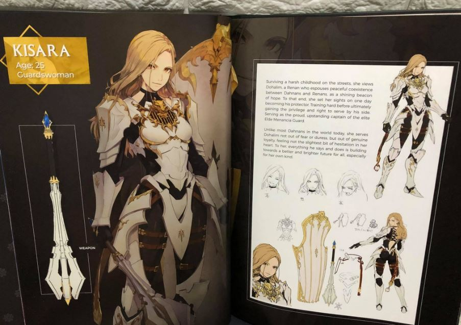 tales of arise collector's edition artbook 3