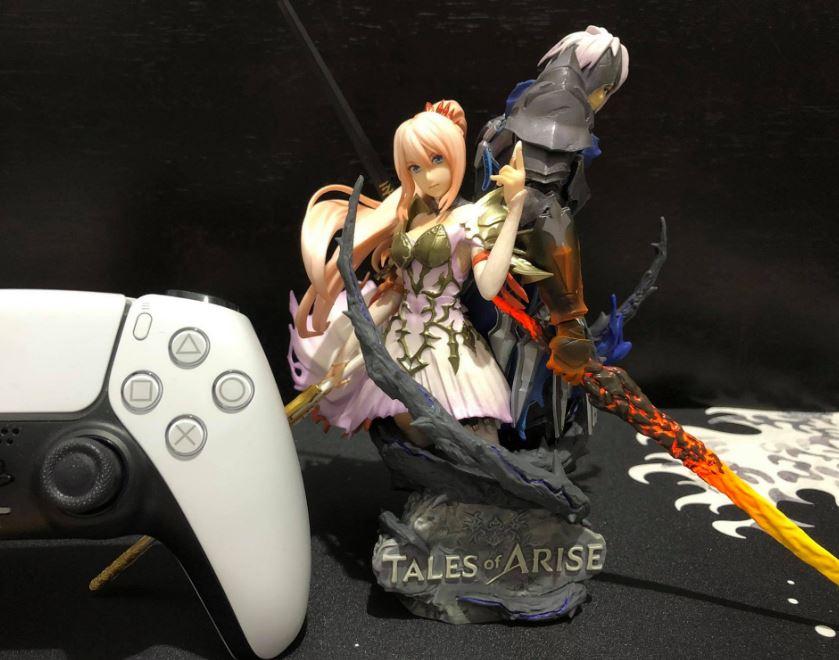 tales of arise collector's edition figure assemble dualsense