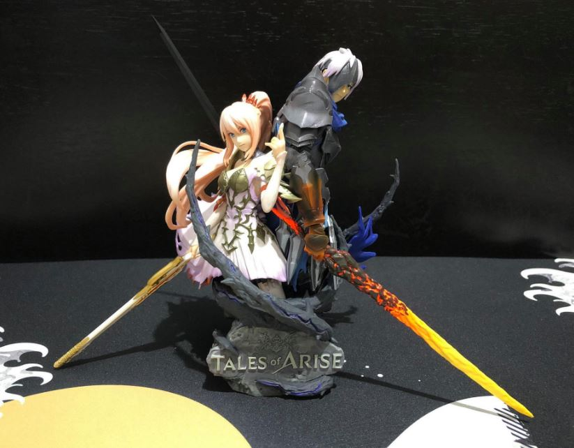 tales of arise collector's edition figure assemble