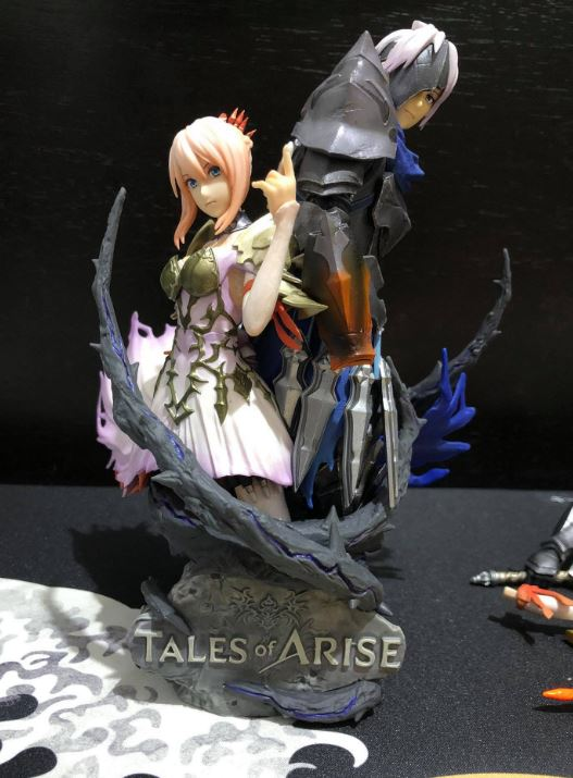 tales of arise collector's edition figure disassemble