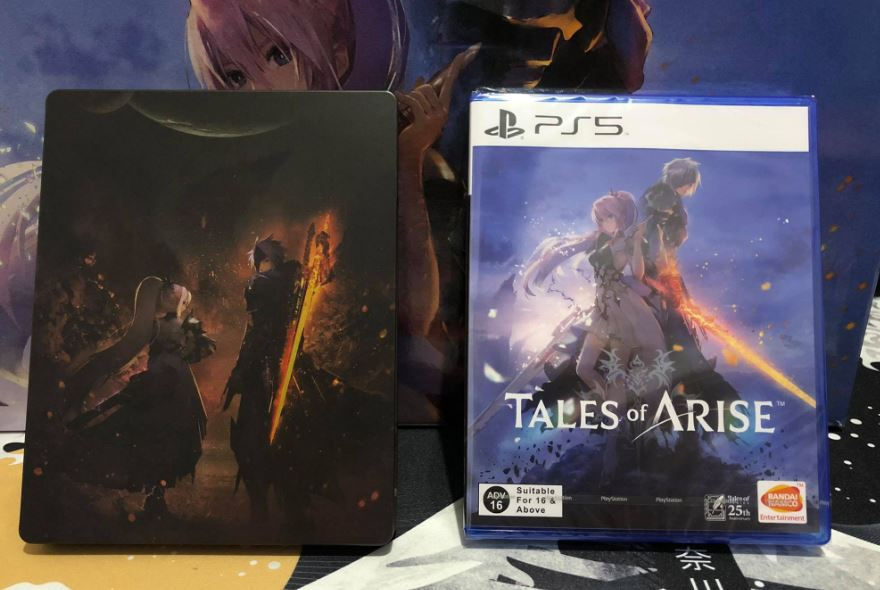 tales of arise collector's edition game