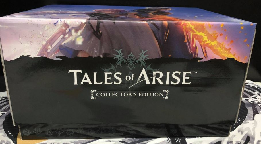 tales of arise collector's edition inner box