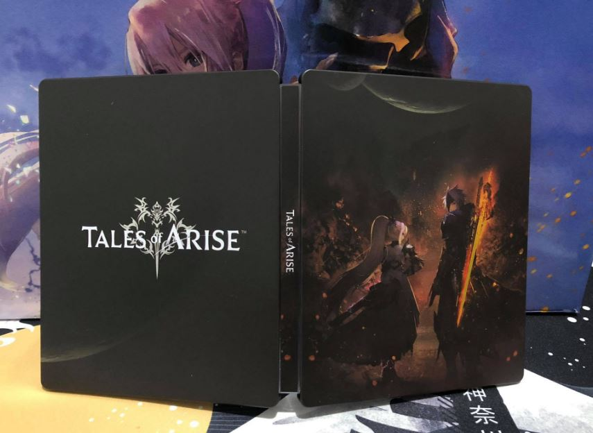 tales of arise collector's edition steelbook