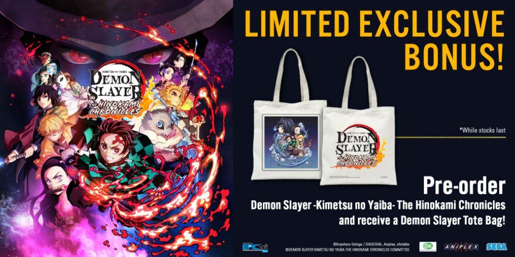 demon slayer asia exclusive bonus
