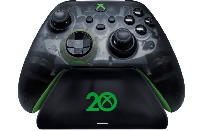 xbox 20th anniversary controller stand